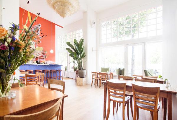 Eten en drinken tussen de kunst: dat kan bij No Man's Art Gallery in Bos en Lommer