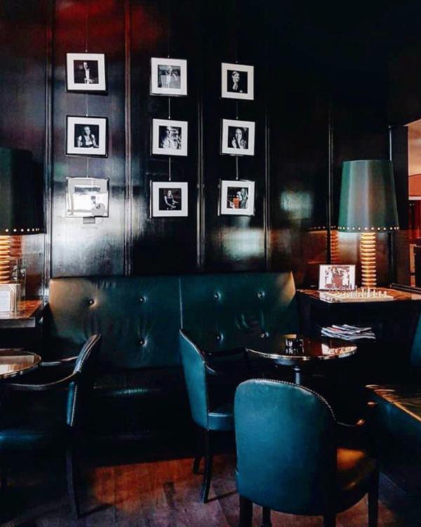 Confidential burger @ Freddy's Bar Amsterdam (@ Hotel l'Europe)