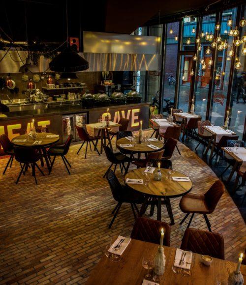 Geen echte grot, maar wel knus: Meatcave in Den Haag