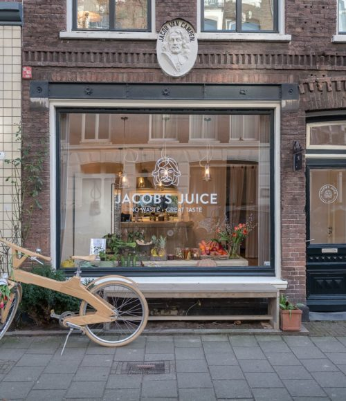 no waste, wel lekkere sappies: Jacob's Juice Amsterdam