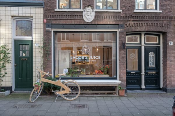 no waste, wel lekkere sappies: Jacob's Juice Amsterdam