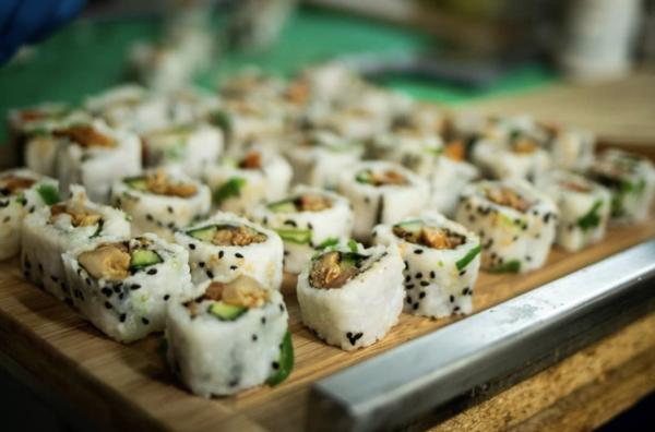Heet nieuwtje: Plant Based Sushi bij De Ruimte in Amsterdam Noord