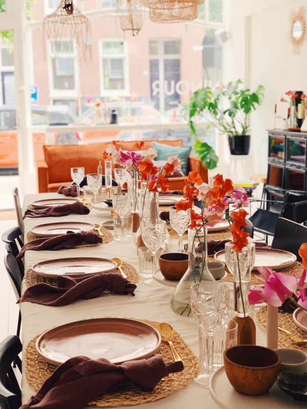 Nieuw: private dining bij Ninour Amsterdam