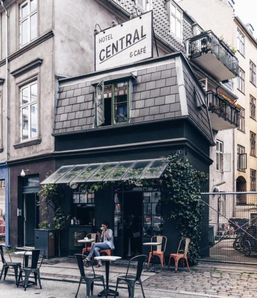 Klein en fijn in Kopenhagen: Central Hotel & Café Copenhagen (Denemarken)