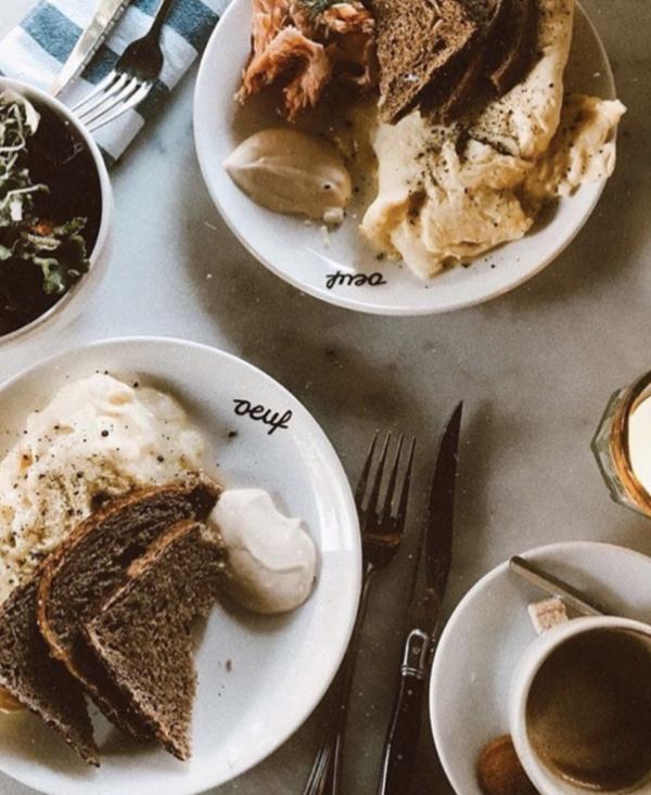 Ei ei ei, en we zijn zo blij met restaurant Oeuf in de Pijp in Amsterdam