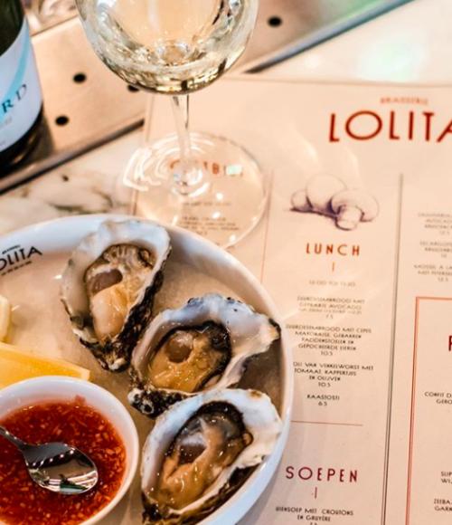 Brasserie Lolita Amsterdam, waar je altijd goed zit