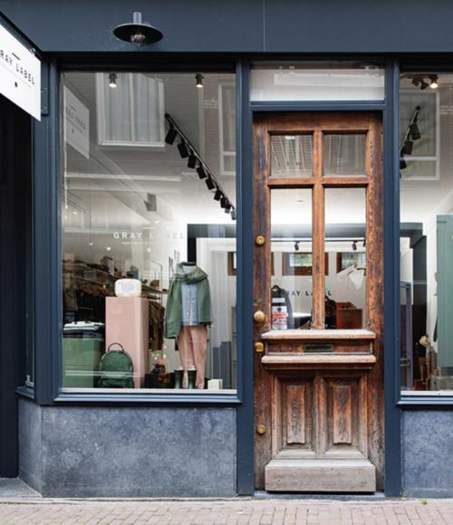 Nieuw: De Gray Label Flagshipstore in Amsterdam