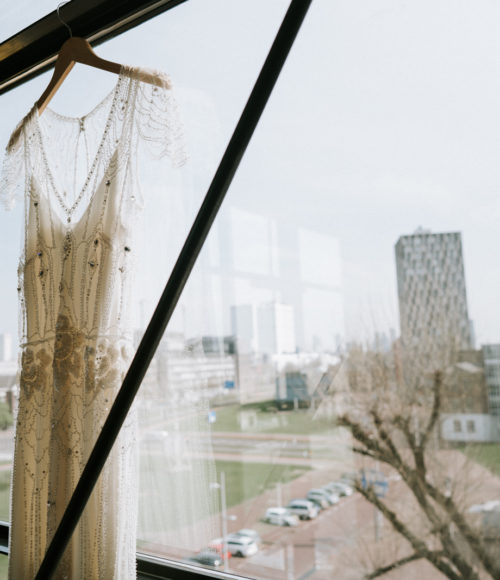 Over duurzaamheid gesproken… SAY YES TO THE PRE LOVED WEDDING DRESS!