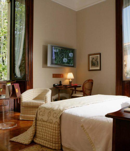 Rome equals oude chic equals een overnachting bij Villa Spalletti Travelli Rome (Italie)