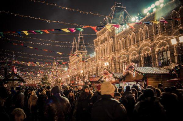 De Amsterdamsche Kerstmarkt op het Westergas