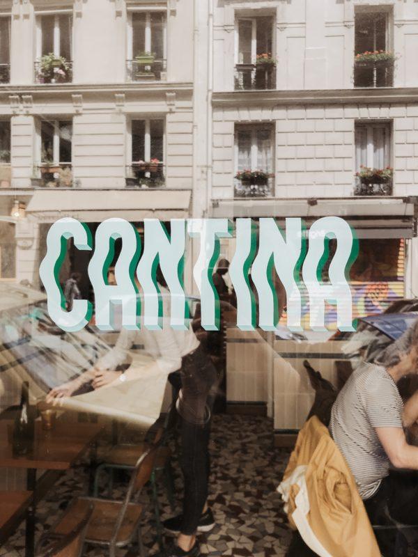 Van de eigenaren van ons favo restaurant in Parijs (Carbon): Cantina Paris