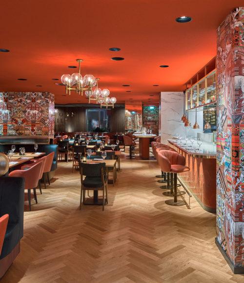 Restaurant Midtown Grill in Amsterdam (Marriott Hotel)
