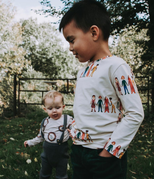 Kind Rebel: knappe kindershirts met een mooie boodschap