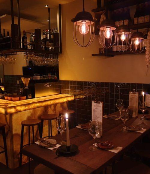 Hals over kop op het Spaanse restaurant Barrica Amsterdam