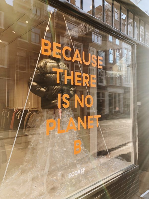 "Fair Fashion: ""Because there is no planet B"" Ecoalf Store in Amsterdam"