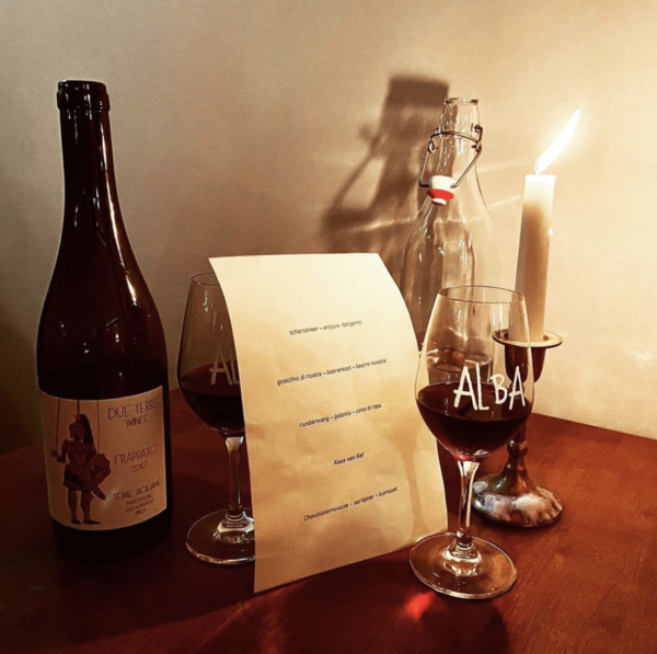 De Amsterdamse nieuwe waar we allemaal heen moeten (zo blijkt): Restaurant Alba Amsterdam