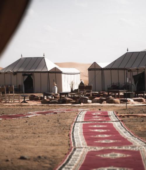 tentenkamp marokko - barts boekje