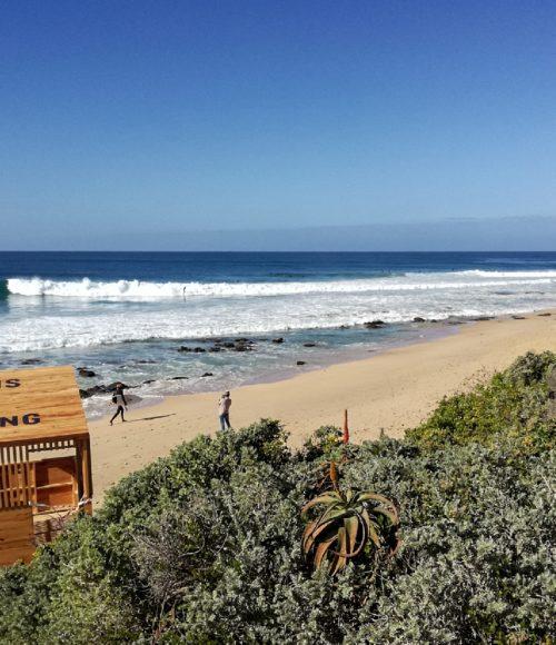 het Zuid-Afrikaanse Jeffrey's Bay – hier wil je wezen