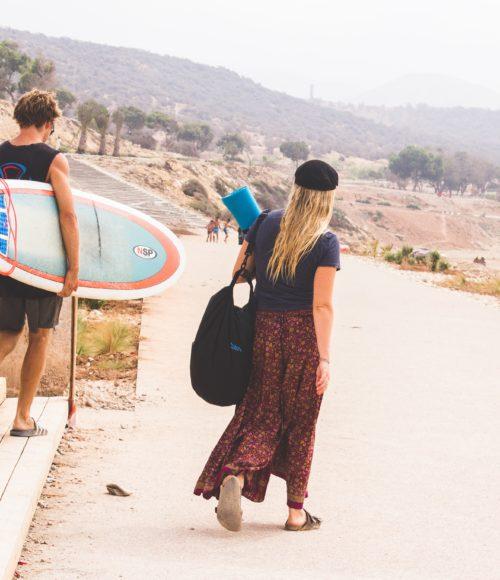 Surfplek Taghazout, Marokko