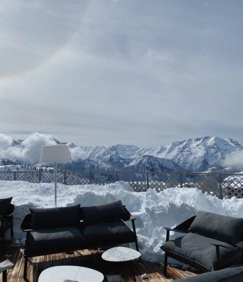 Lenteskiën in Alpe D'Huez, Frankrijk