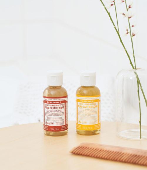 Natuurlijke 18-in-één zeep met een wereldverbeterend geurtje: Dr. Bronner's