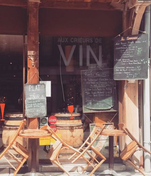 Aux crieurs de vin - Barts Boekje