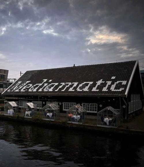 Coronaproof uit eten in je eigen minikas in Amsterdam: Mediamatic