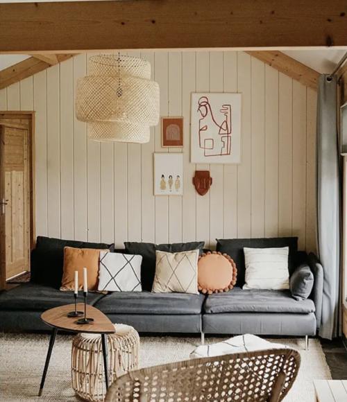 Slapen in een houten huisje in de natuur: Tiny Hotel