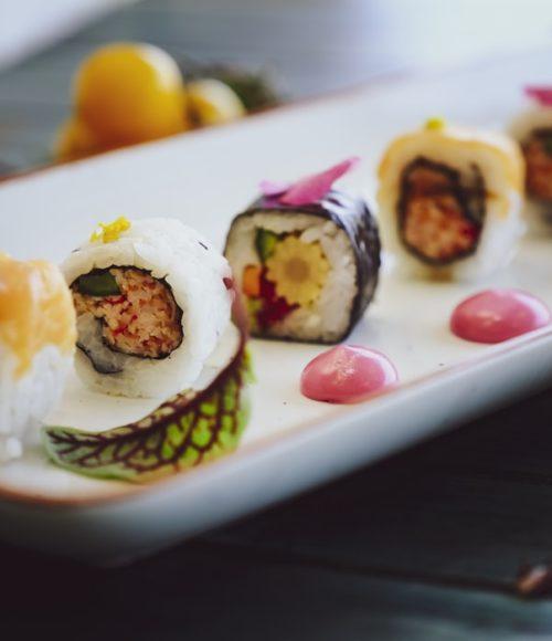 Lady Papa goes sushi – ook in Bergen is het bezorgbal!