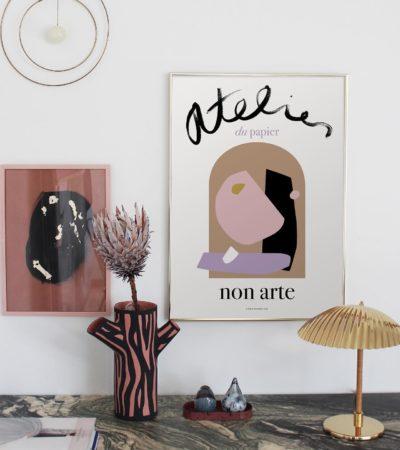 posters - nynne rosenvinge - Barts boekje