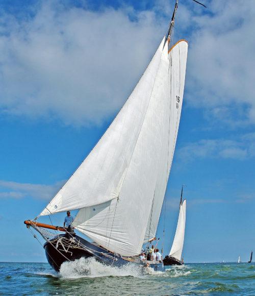 Zeilen + vakantie in Nederland = De Blauwe Donder. Een droom(vakantie) op een boot