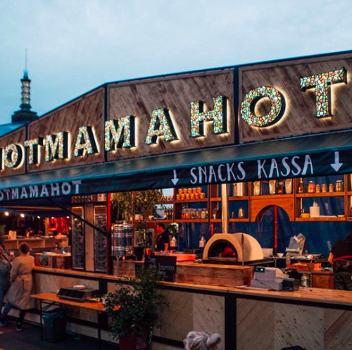 Hallo Amsterdam, hier is Hotmamahot 2GO!