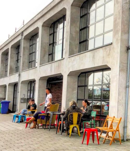 Restaurants Amsterdam Noord - Coffeebar Mok - Barts Boekje