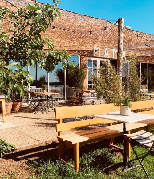 Pop up restaurant + relax stek: MAMA