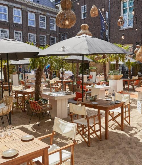 The Grand Beach – een 'stukje' Côte d'Azur in Amsterdam