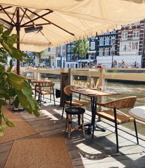 De mooiste terrassen van Amsterdam (met een vleugje allure) met uitzicht over het water