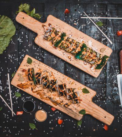 sushi Barts boekje