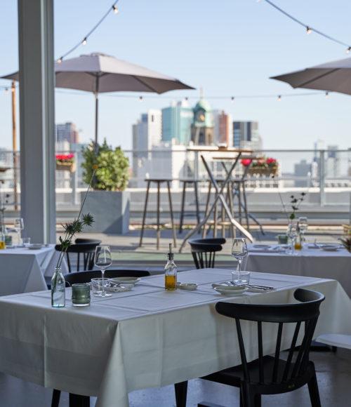 Nieuw: Het pop-up rooftop restaurant Fontein in Rotterdam