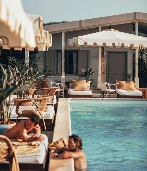 Hotel EPI 1959, RAMATUELLE, de St Tropez klassieker opnieuw uitgevonden