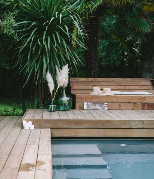 Coco Barn Wood Lodge in zuid-west frankrijk a.k.a. het vakantieparadijs