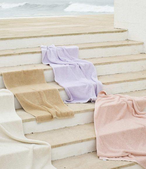 Duurzaam in je badkamer: handdoeken en badlakens van bio katoen