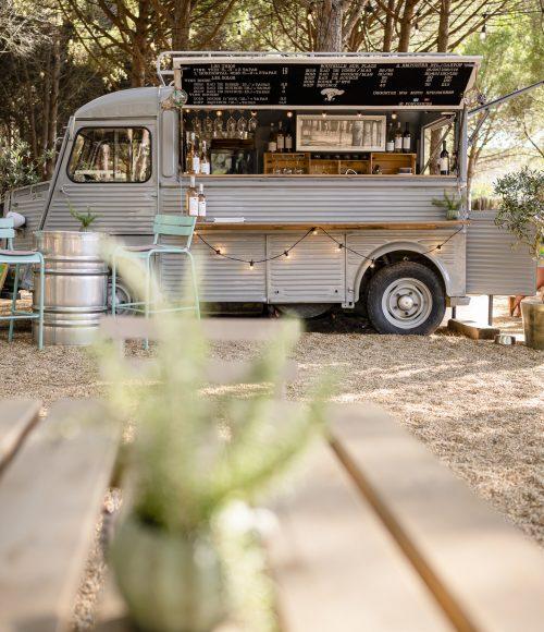 l'Ephémère: de foodtruck van Fondugues Pradugues in het Zuid-Franse Ramatuelle is een magisch plekje