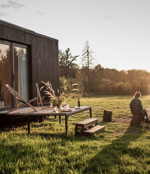 Rondreizende hut voor jullie helemaal alleen: Slow Cabine België