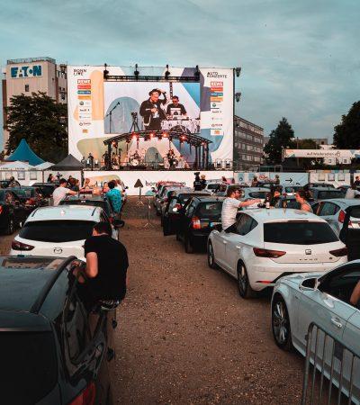 Drive in bioscoop Borchland