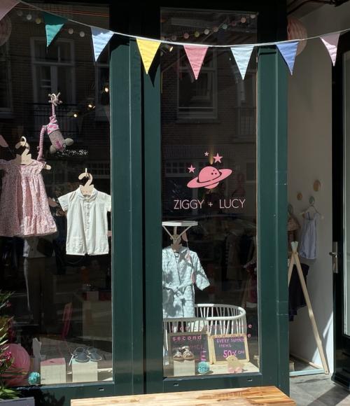 preloved/ tweedehands van merken van nu voor het kleine spul: op naar Ziggy + Lucy Amsterdam