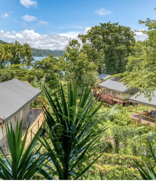 Glamping hotel Isla Chiquita, Costa Rica