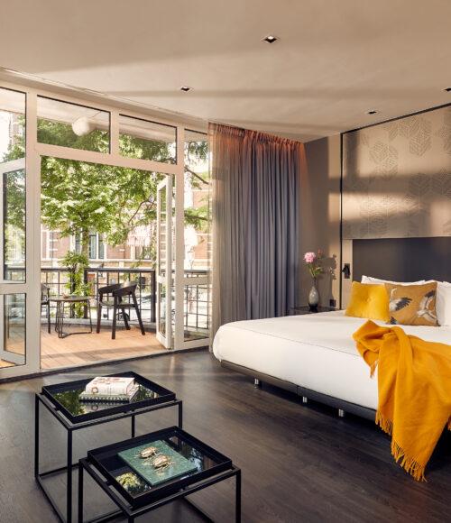 boutique hotel Park Plaza Vondelpark in Amsterdam werd in een gloednieuw jasje gestoken