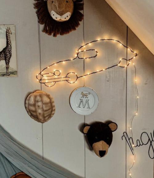 De liefste hand made wall decorations van Zoé Rumeau voor op de kinderkamer