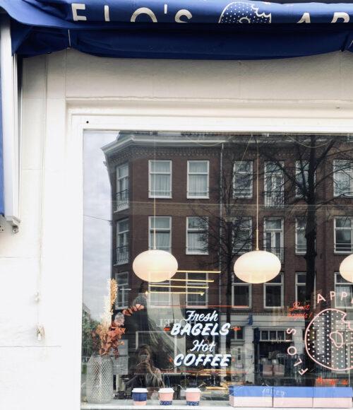 Flo's Appetizing Amsterdam, bagels waar je U tegen zegt