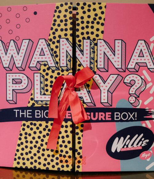 Willie opent de deuren naar een maand vol rollenbollen in bed: Willie's Premium Erotische Adventskalender
